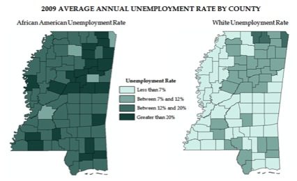 2009-Average-Annual-Unemployment-Rate-By-County
