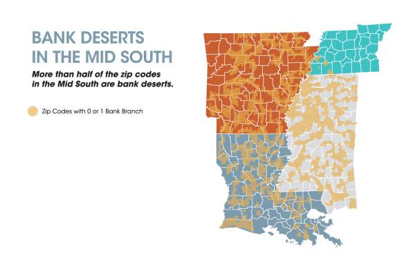 Bank Deserts Map