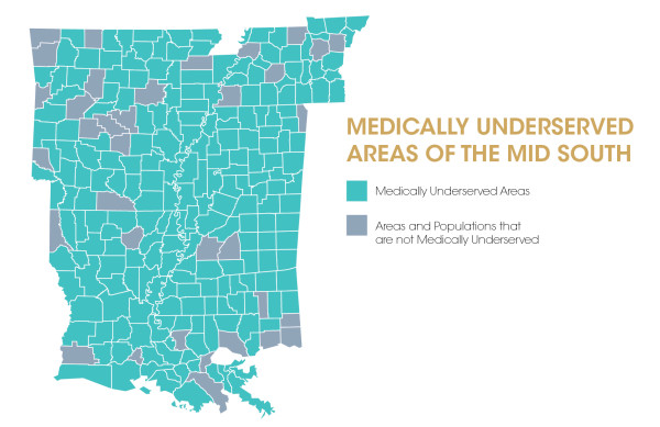 Medically Underserved Areas of the Mid South-01